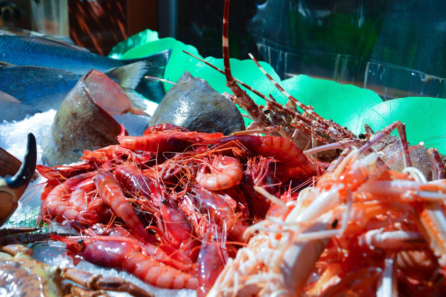 pescado y marisco en barcelona