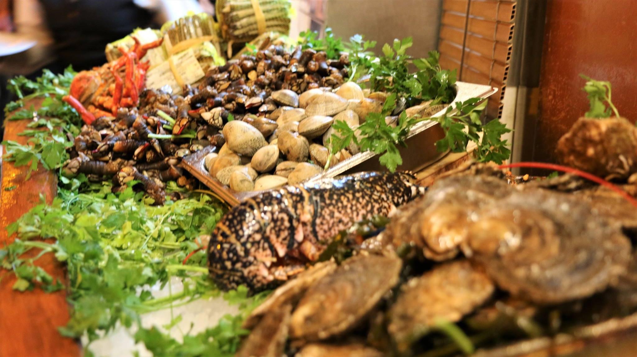 barcelona restaurant seafood
