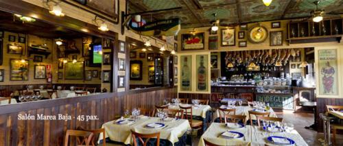 Salón Marea Baja<br>45 comensales
