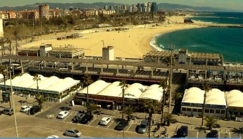 Ubicación inmejorable<br>en el Port Olìmpic de Barcelona